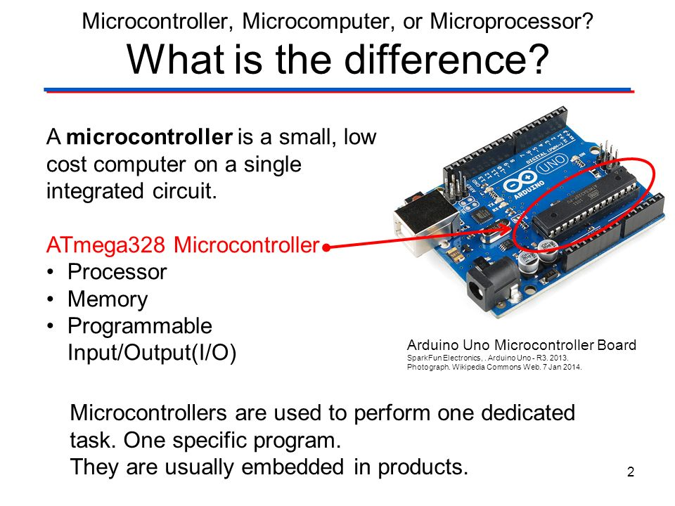 Microcontrollers microcomputers and microprocessors