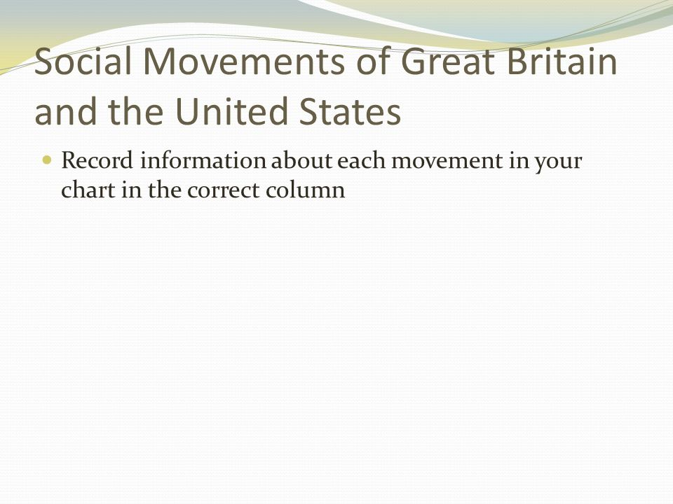 """""""reform movements in the united states 2 how were the reform movements of 1820-1860 in the united states related to the growth of industry and urban life during the years 1820-1860, america has received a wave of social reformation movements that were in."""