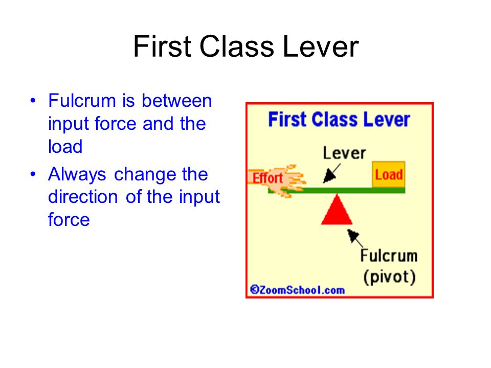 Lever Input And Output Force : Levers ppt video online download