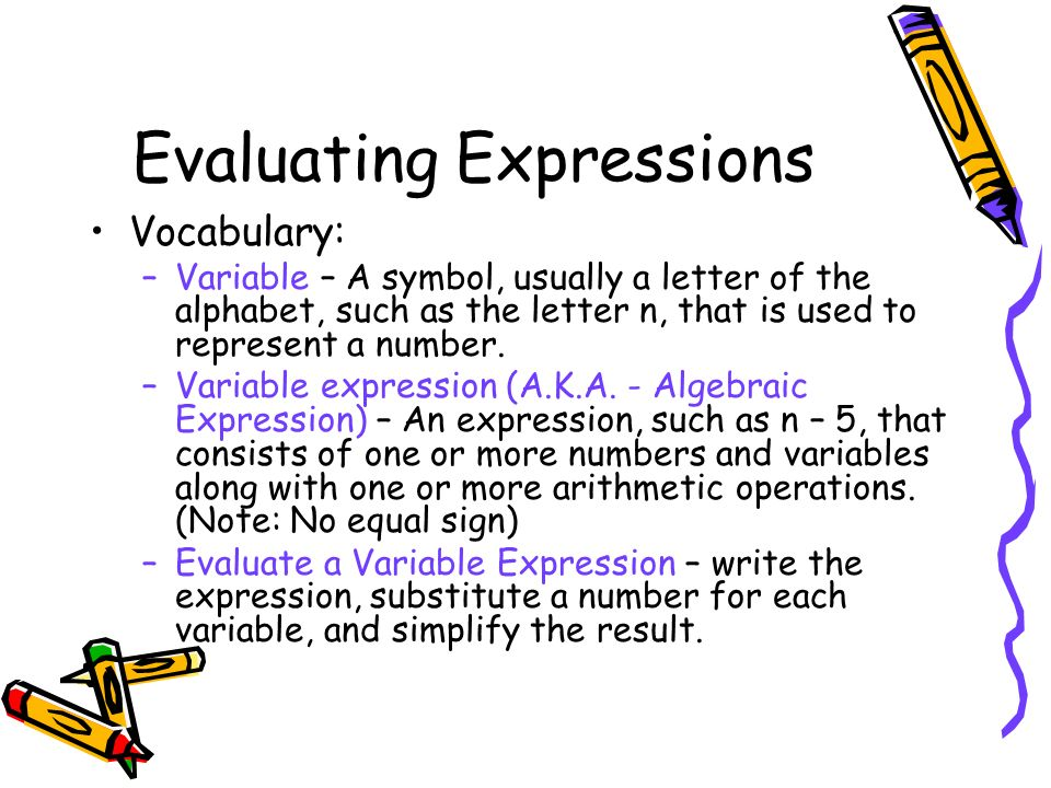 Combining Like Terms And Evaluating Expressions Worksheet - Kidz ...
