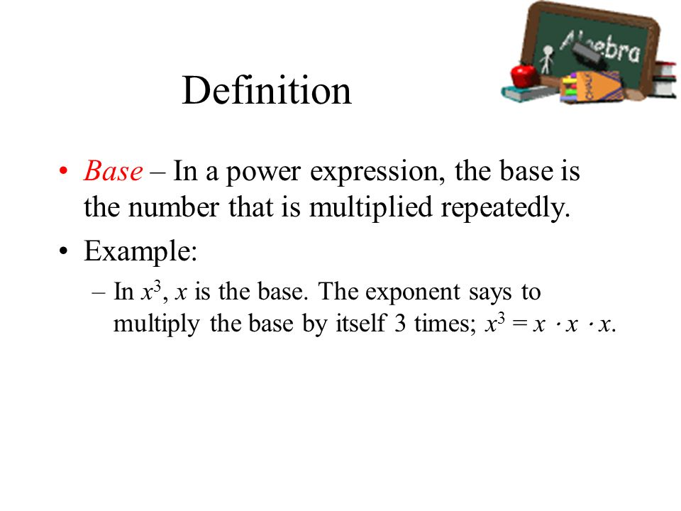 how to find the base and exponent of a number