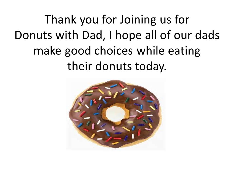 thank you eat if you give my dad a donut ppt video online download
