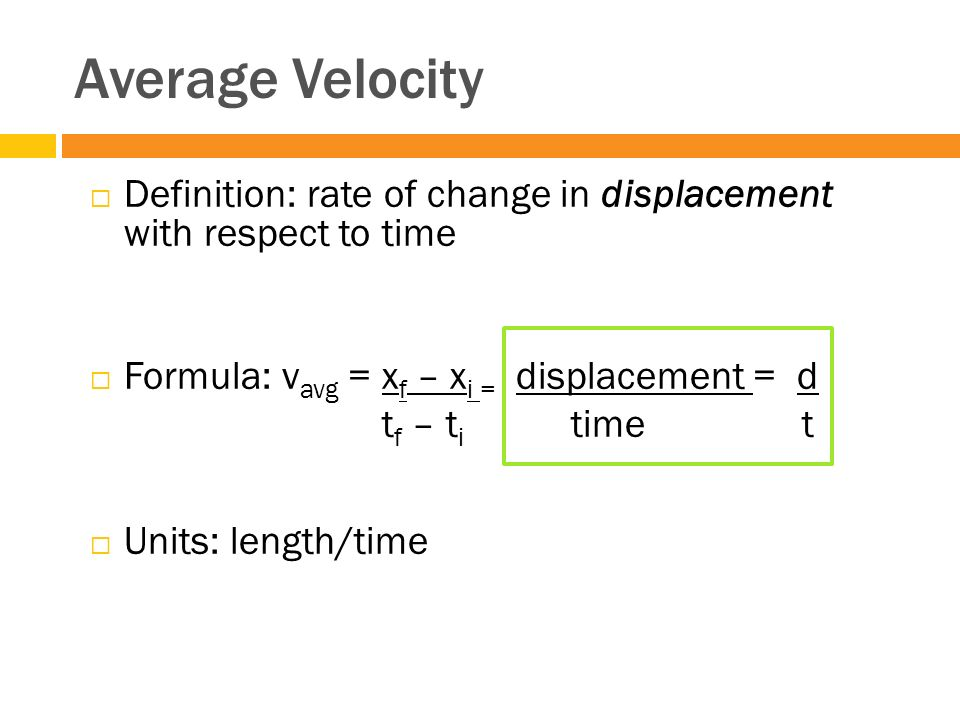 learning target 3  velocity