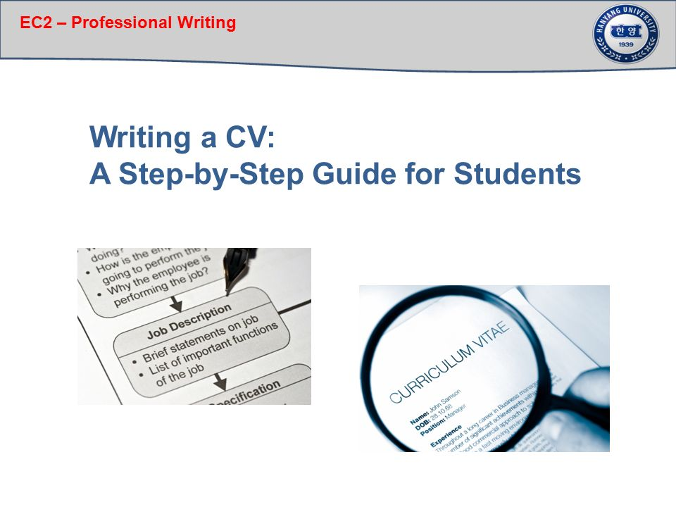 a step by step guide for students ppt