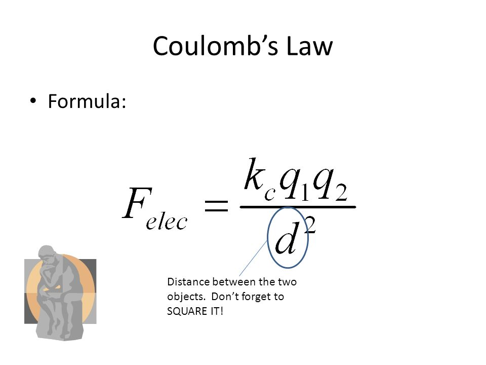 electrostatic coulomb constant Coulomb's constant , the electric force constant , or the electrostatic constant (denoted k e ) is a proportionality constant in electrodynamics equations it was.
