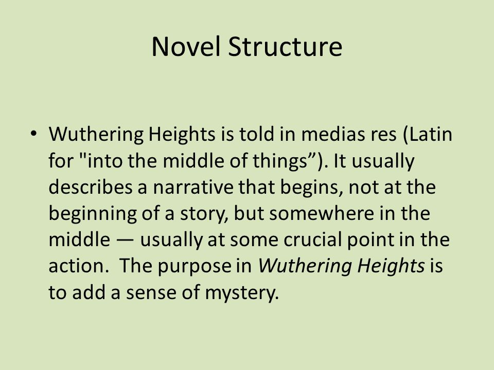 class structure in wuthering heights The characters in wuthering heights demonstrate the nature of this class- structured society the lintons were the most elite family in the novel, and thrushcross grange was a superior property to wuthering heights, yet they were not members of the uppercrust of society rather, they were the professional middle class.