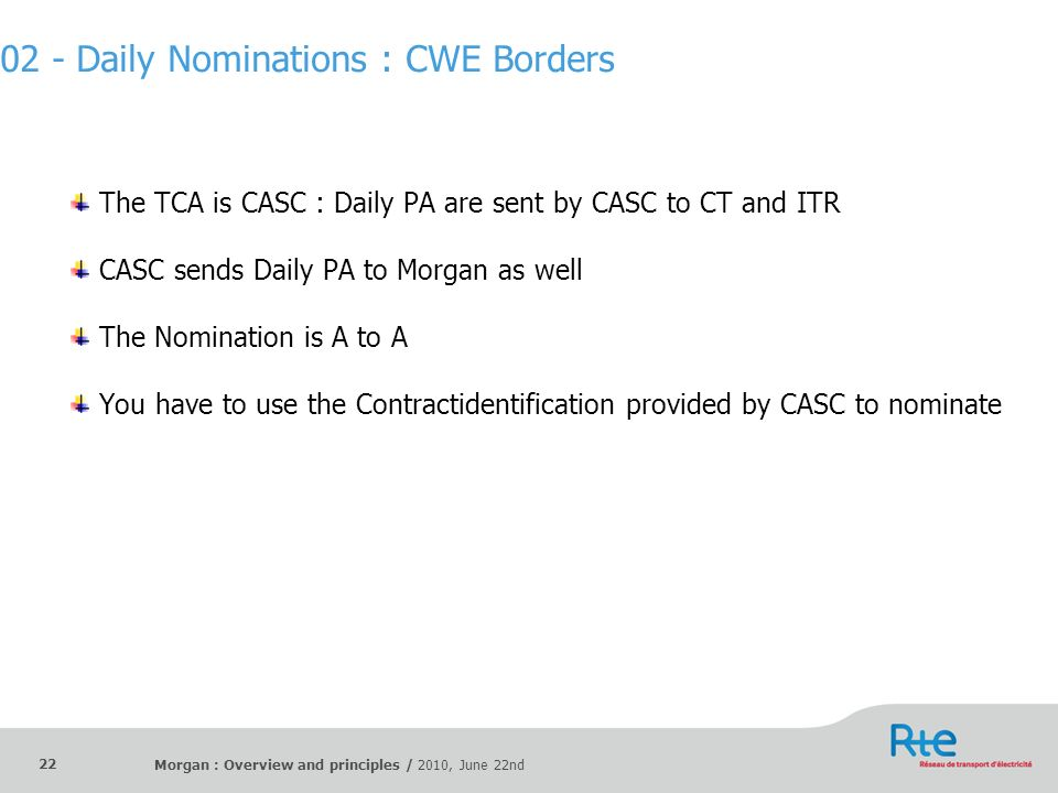 02 - Daily Nominations : CWE Borders