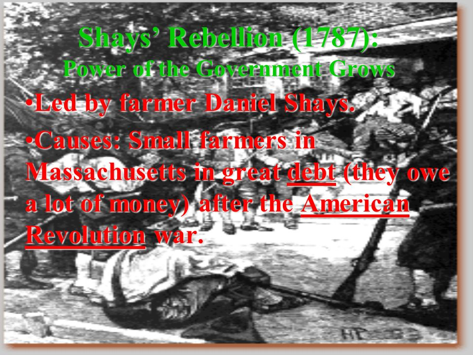 Early American Rebellions - ppt download