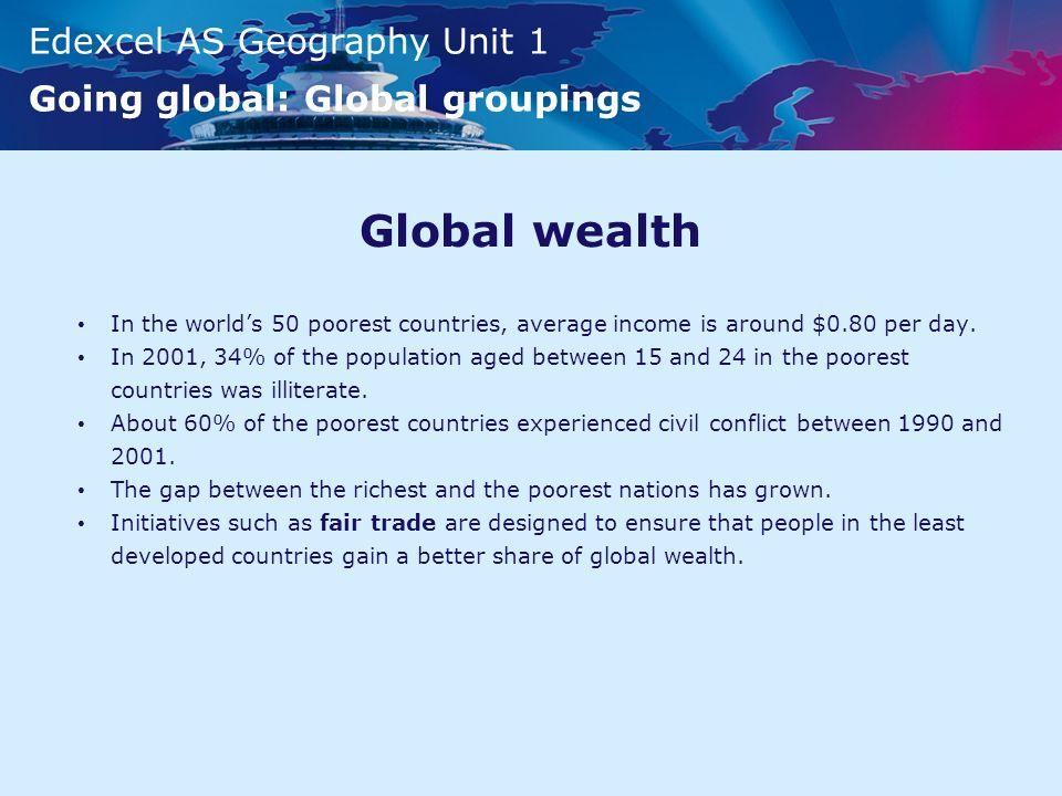 Going Global Global Groupings Ppt Video Online Download - Top 50 poorest countries in the world
