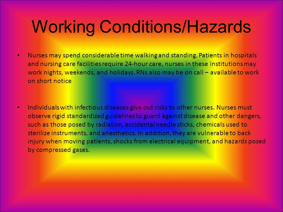8 working conditionshazards working conditions of a neonatal nurse - Working Conditions Of A Neonatal Nurse