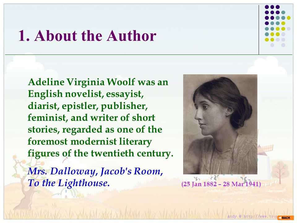 Virginia Woolf Analysis