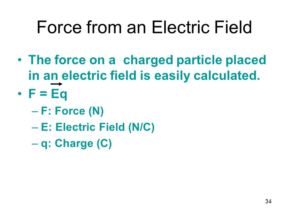 electric field force sample problem This electric charge creates an electric field electric field is the force per quantity of charge can be used to algebraically solve physics word problems.