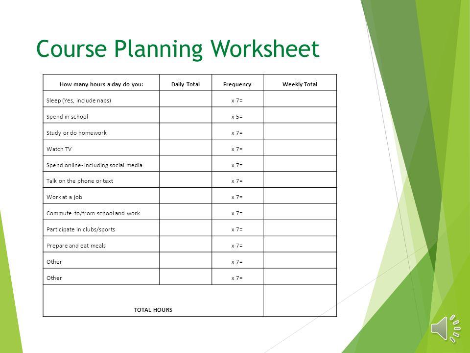 high school course planning worksheet high best free printable worksheets. Black Bedroom Furniture Sets. Home Design Ideas