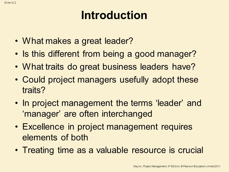 on what makes a great leader and manager Or maybe what i should have asked is what makes a great risk management team active risk undertook some comprehensive original research back.