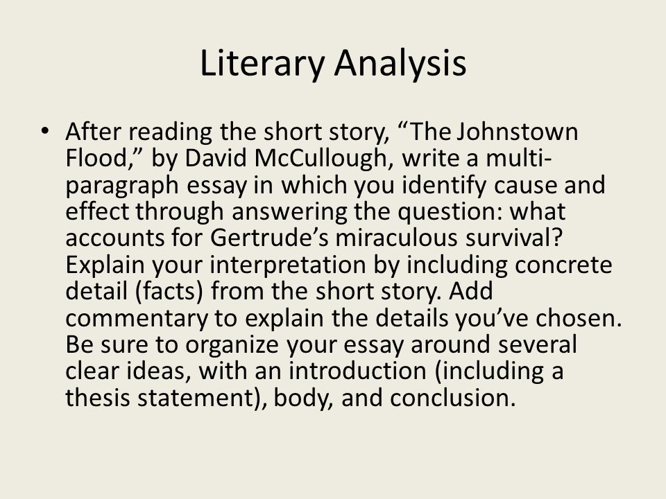 response to literature ppt video online literary analysis