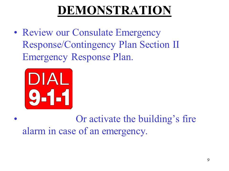 fire emergency response plan pdf