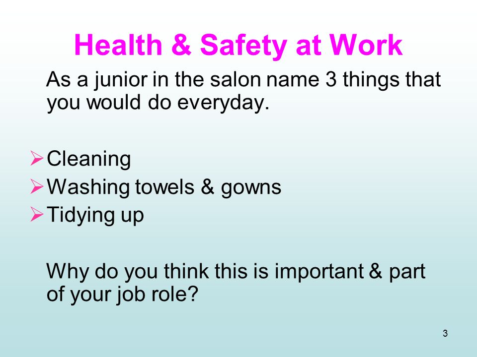 Maintain health safety in the salon ppt video online for 3 methods of sterilization in the salon