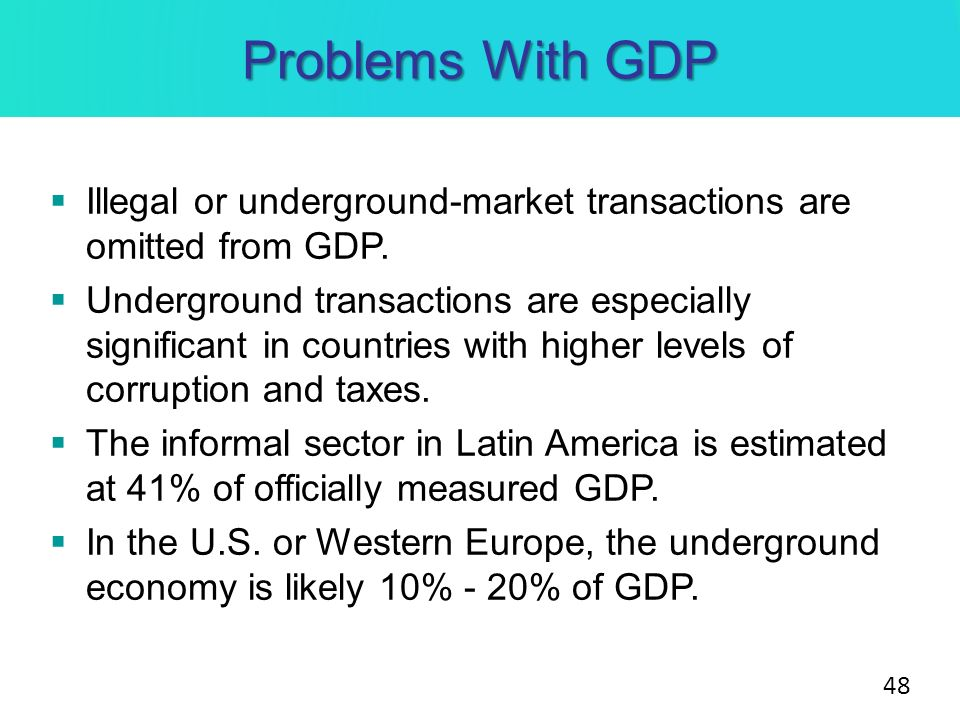 How Big Is the Underground Economy in America?