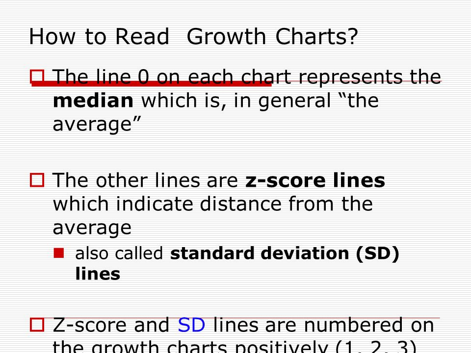 How To Read Who Growth Charts Rebellions