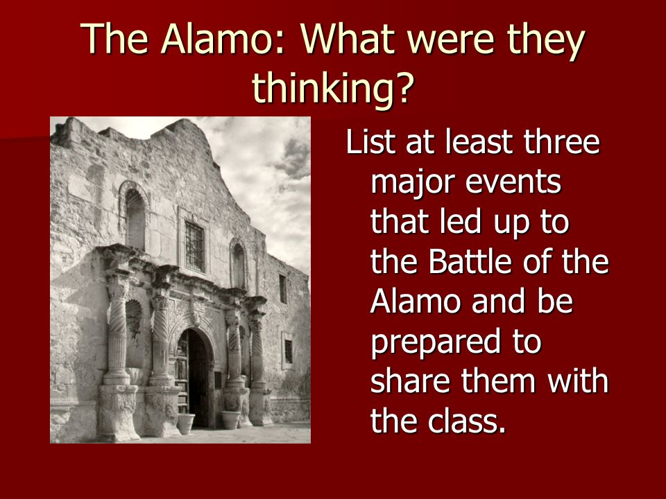what was the alamo what was