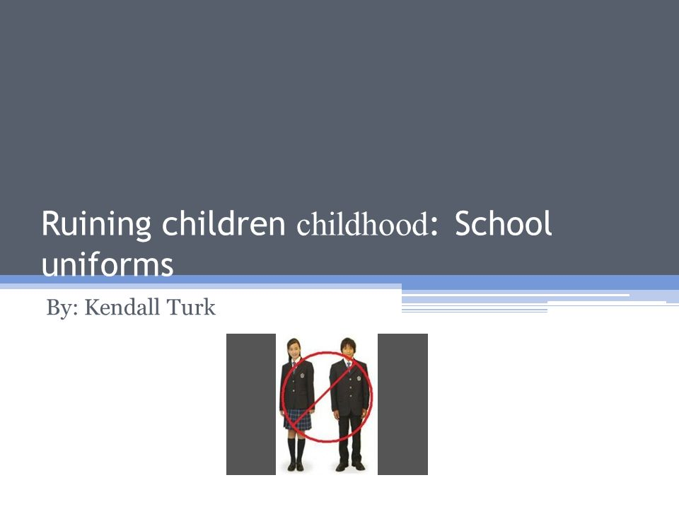 """school uniforms and the freedom to be individuals The first amendment and student freedom of speech  that students are """" persons"""" under the constitution in school as well as out of school."""