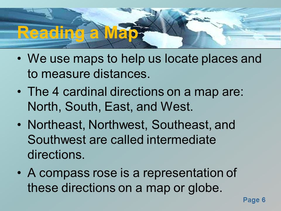 Spatial Sense Maps Globes Geographic Tools Ppt Video Online - How the globe and maps help us