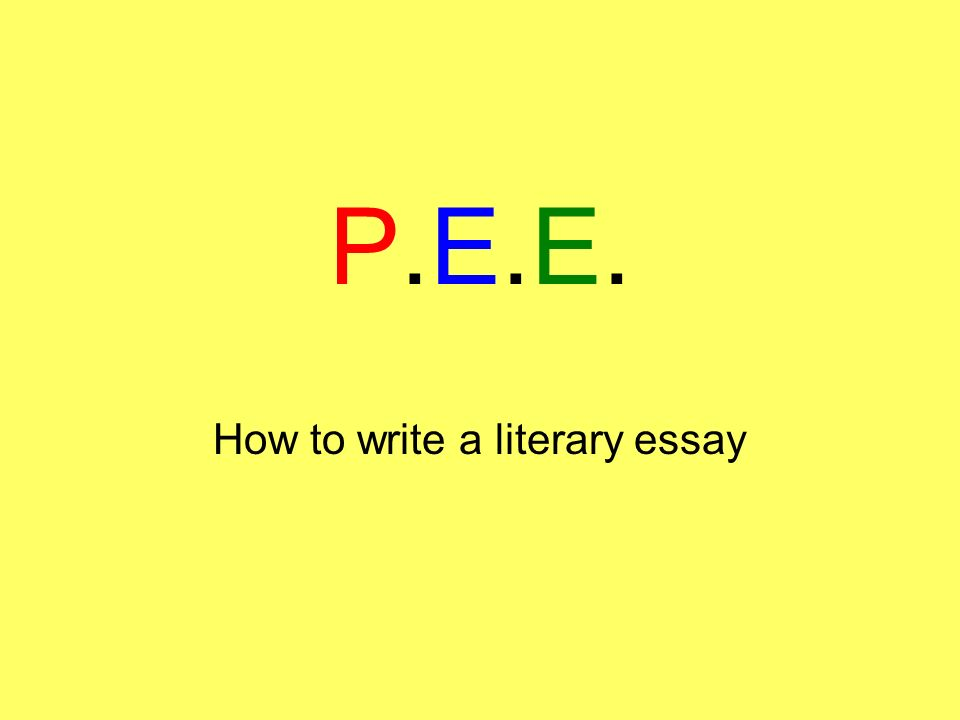 how to write a literary essay ppt video online  how to write a literary essay