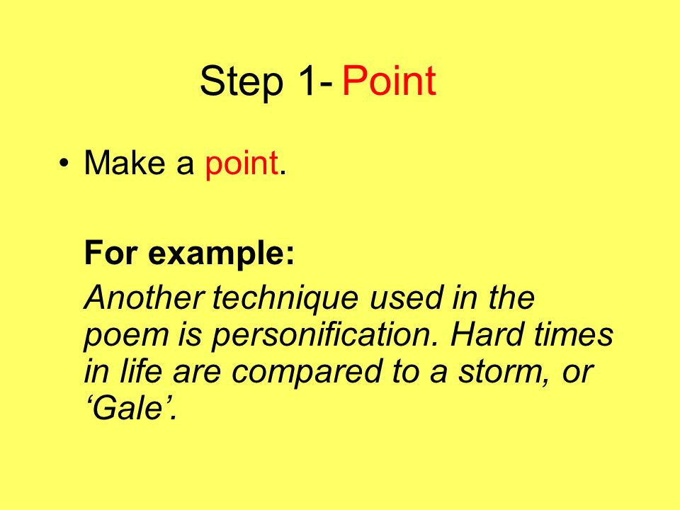 personification essay examples Get an answer for 'can you please give me an example of a simile, metaphor, and personification from the novel lord of the flieslord of the flies' and find homework help for other lord of the flies questions at enotes.