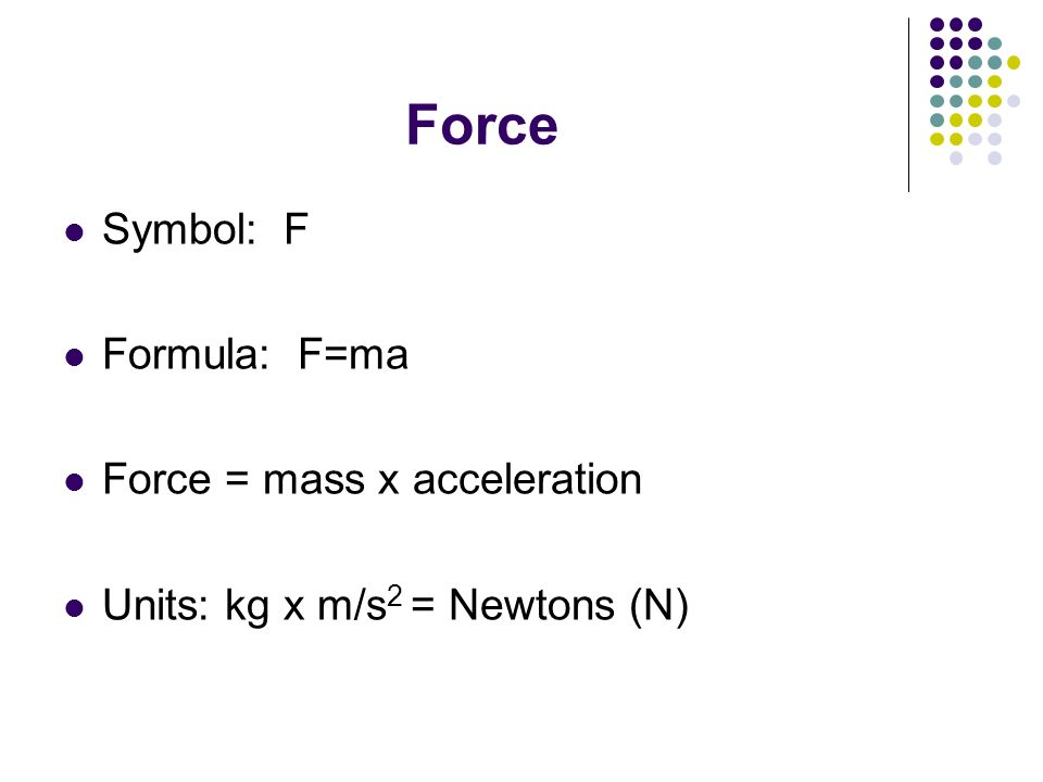 Unit Two Dynamics Section 1 Forces ppt video online download – Force Mass X Acceleration Worksheet