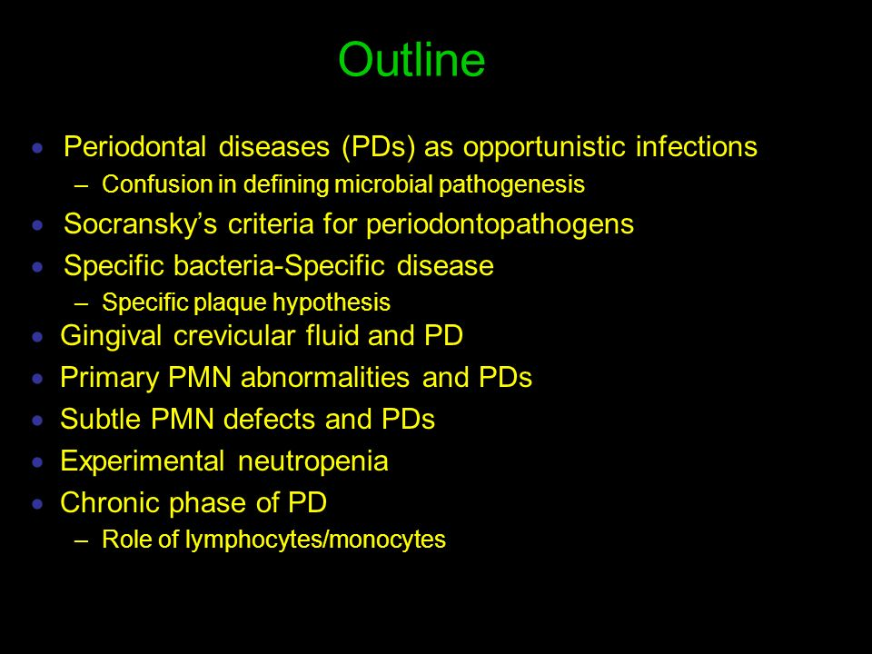 immunology of periodontal disease pdf