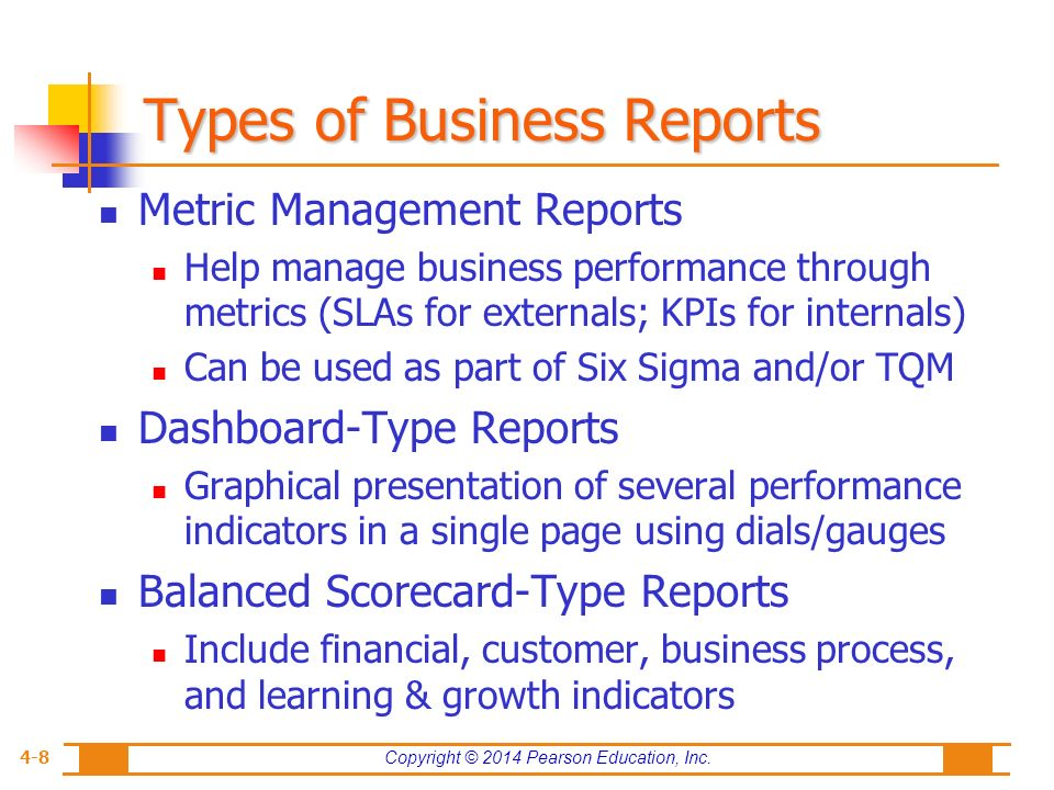 Type of business report 28 images 30 business report templates visual analytics and business performance management wajeb Image collections