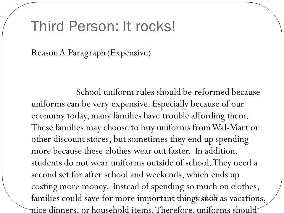 Can uniforms save our schools essay