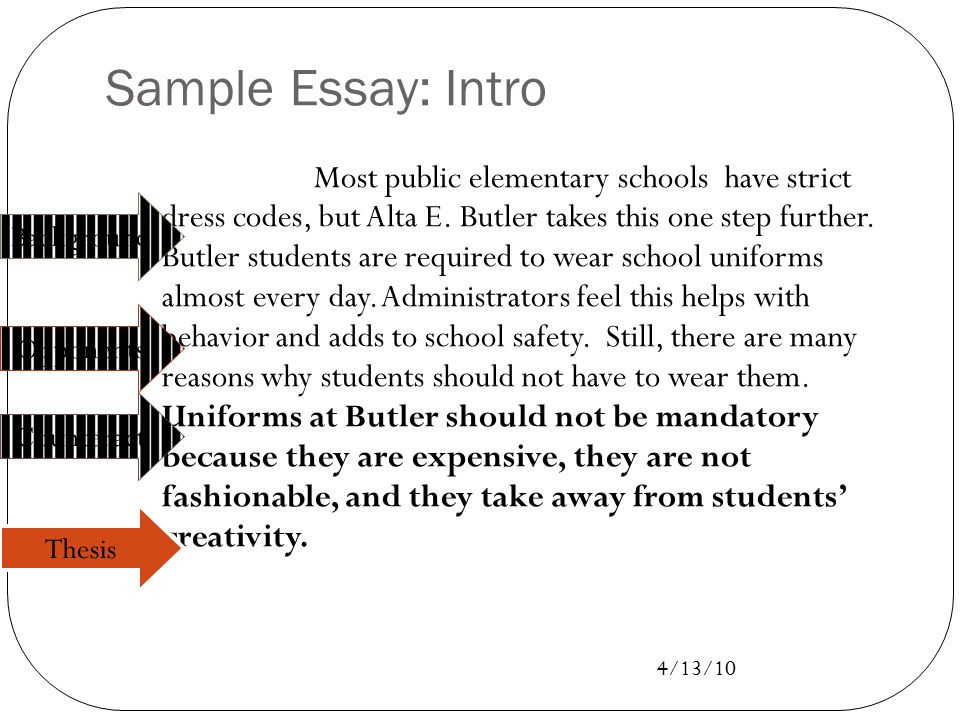 revising let s make those essays shine ppt video  44 sample essay intro