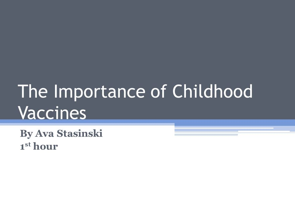 a discussion on the issue of whether or not to vaccinate children Argumentative on vaccinations for children essay vaccinations are a controversial discussion as parents question whether it not vaccinate their children.