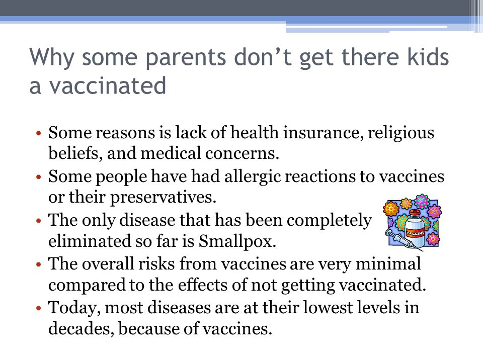 the importance of childhood vaccination essay View full essay  even though there is a public notions that vaccines have bad  effects on the human body  every parent is concerned with their child's health  however  another important statement that both sides have each provided solid .