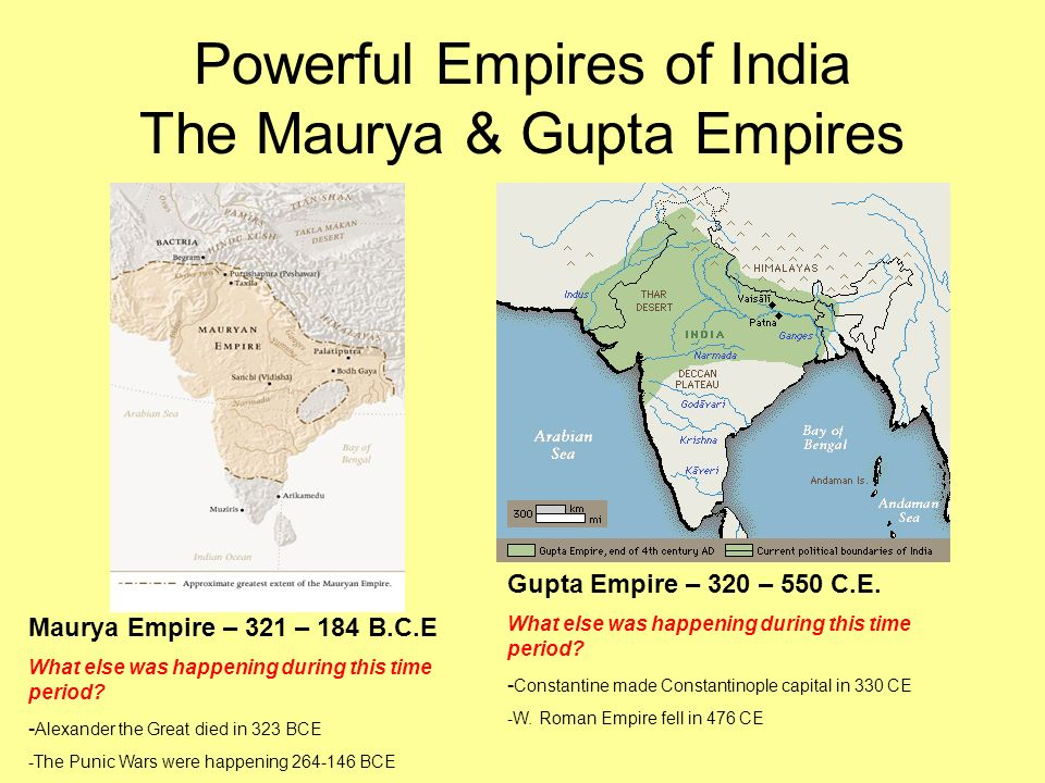 contrast mauryan gupta and roman empires This influenced the social structure of the mauryan by making all of the people equal the social structure of the gupta empire was highly influenced by religion.