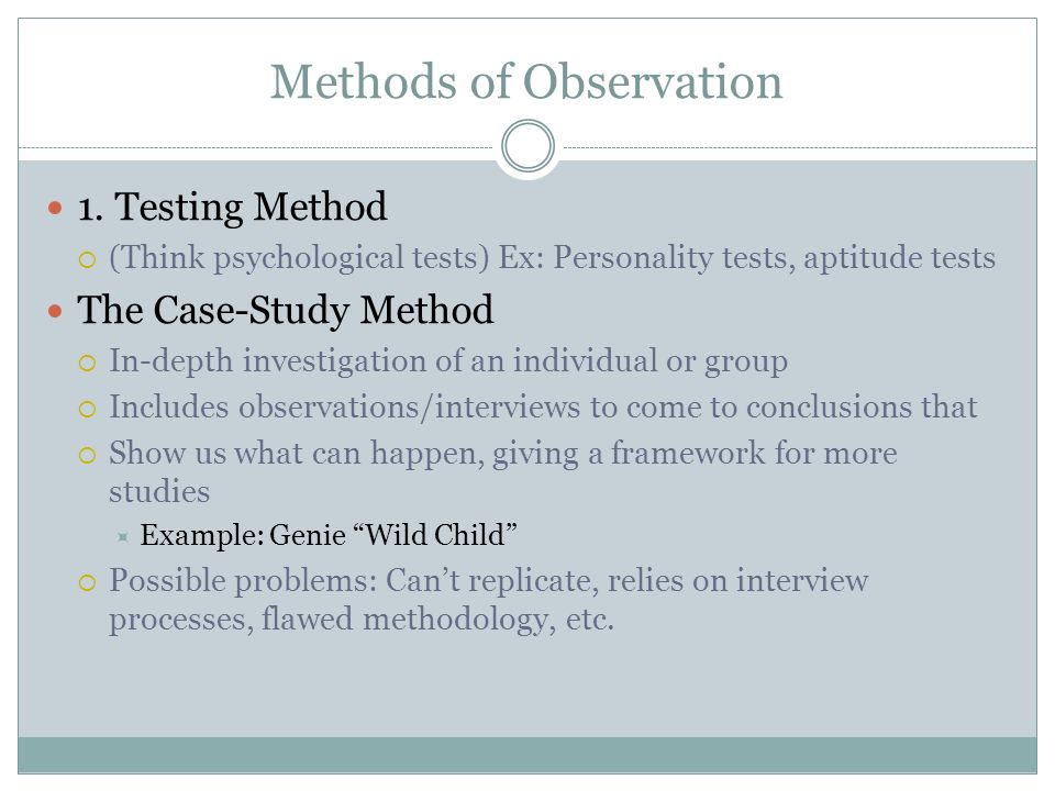 Child observation case study examples – Professor Essay