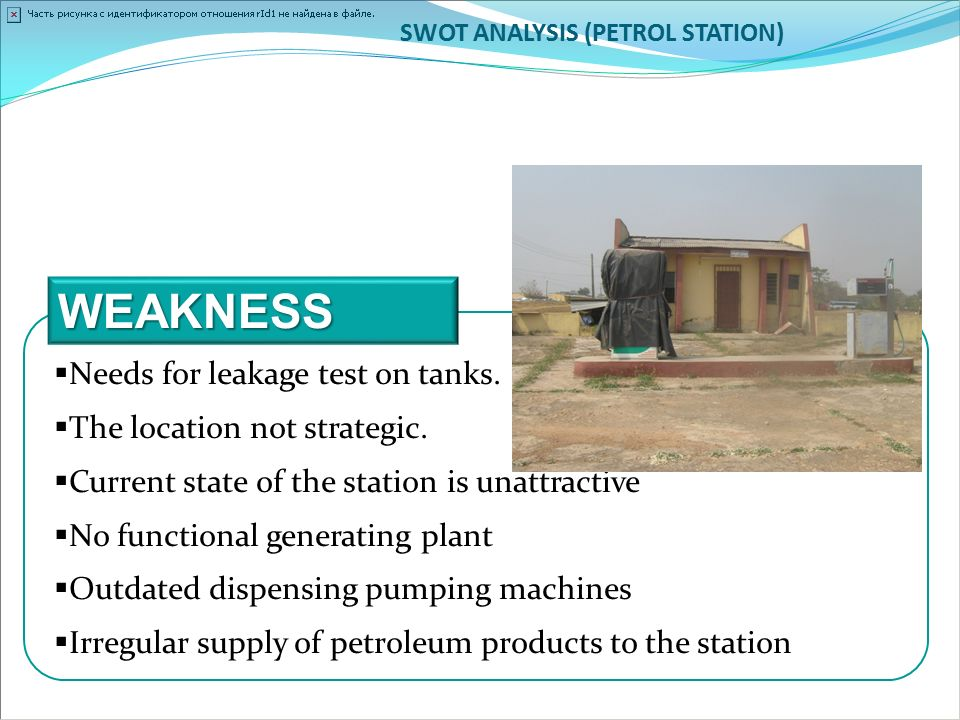 "swot analysis for gas station Analysis 6‐7 conclusion 7  situation analysis or ""swot"" of repurposing the gas  ""happy days"" the gas station was perfect site to create an attractive ."