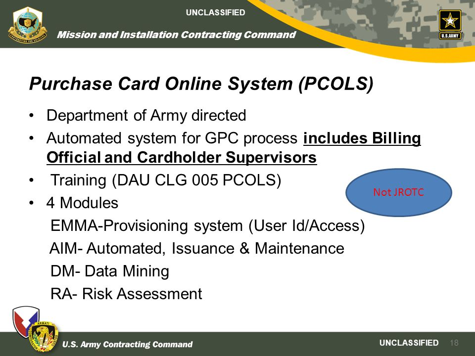 Government Purchase Card Training  Ppt Download