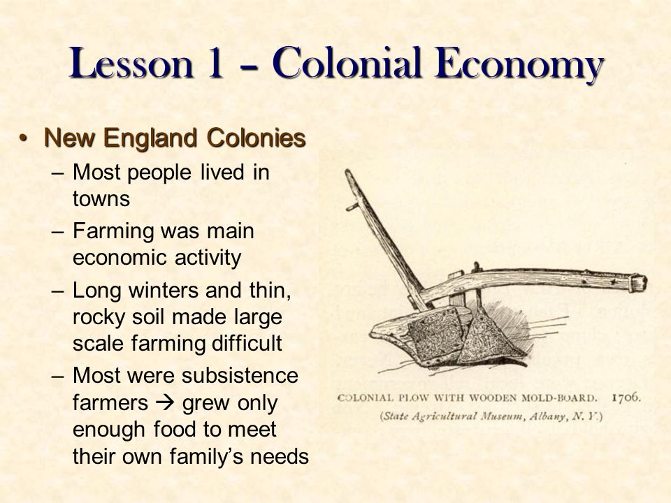 chapter 4 life in the american colonies