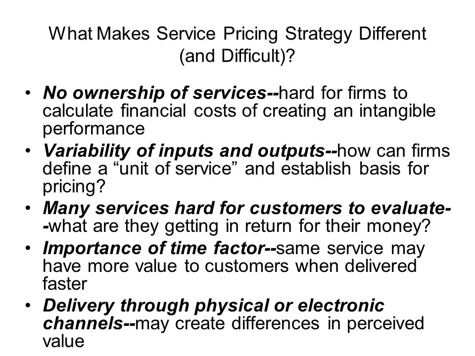 importance of costs in pricing strategy Importance of pricing strategy in marketing  and the importance of your pricing strategy in marketing cannot be ignored  just development costs) and sell, and .
