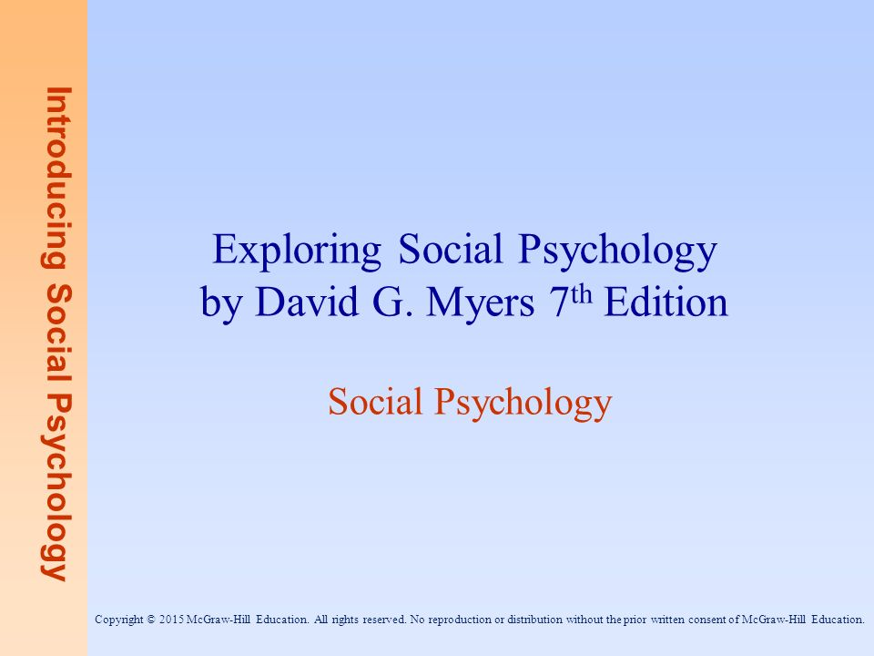ap psych david meyer test bank We wish to test the hypothesis that which of the following is considered by the text to be a pseudo-psychology ap psychology community.