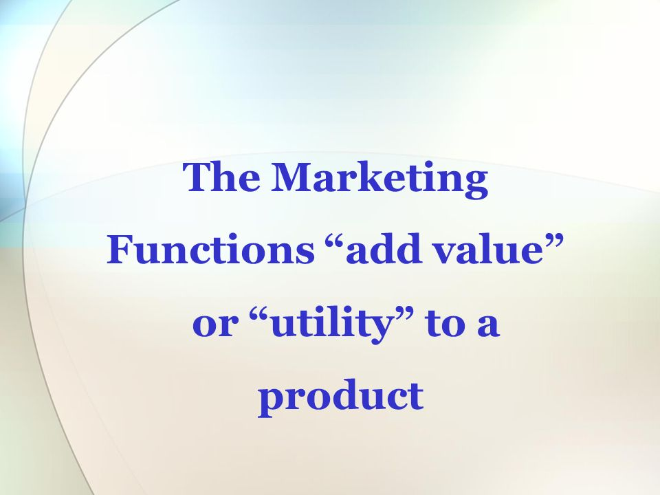 how to add value to a product