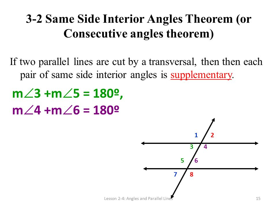 31 And 32 Parallel Lines And Transversals Ppt Video Online Download