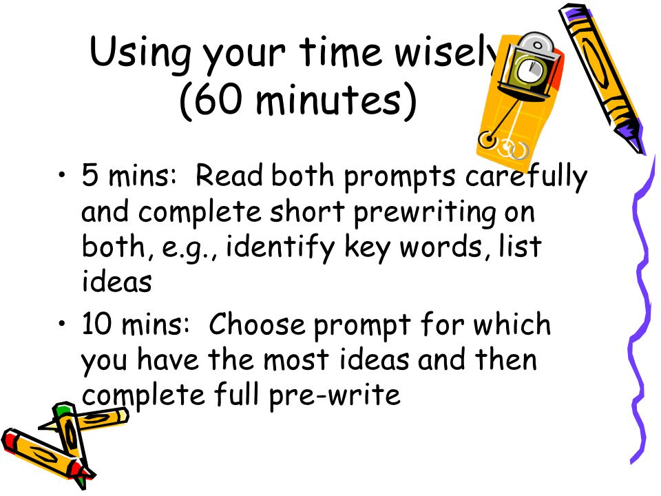 using your time wisely essay Use bullet points and sub-paragraphs in your academic essay  once upon a time, bullet points and sub-paragraphs were not allowed in academic writing assignments.