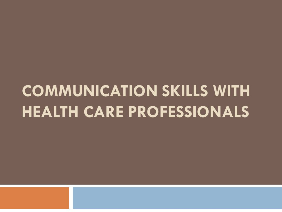 patient health care professional communication Conversely, poor or nonexistent communication among health care professionals  can negatively impact patient care, as the following examples.