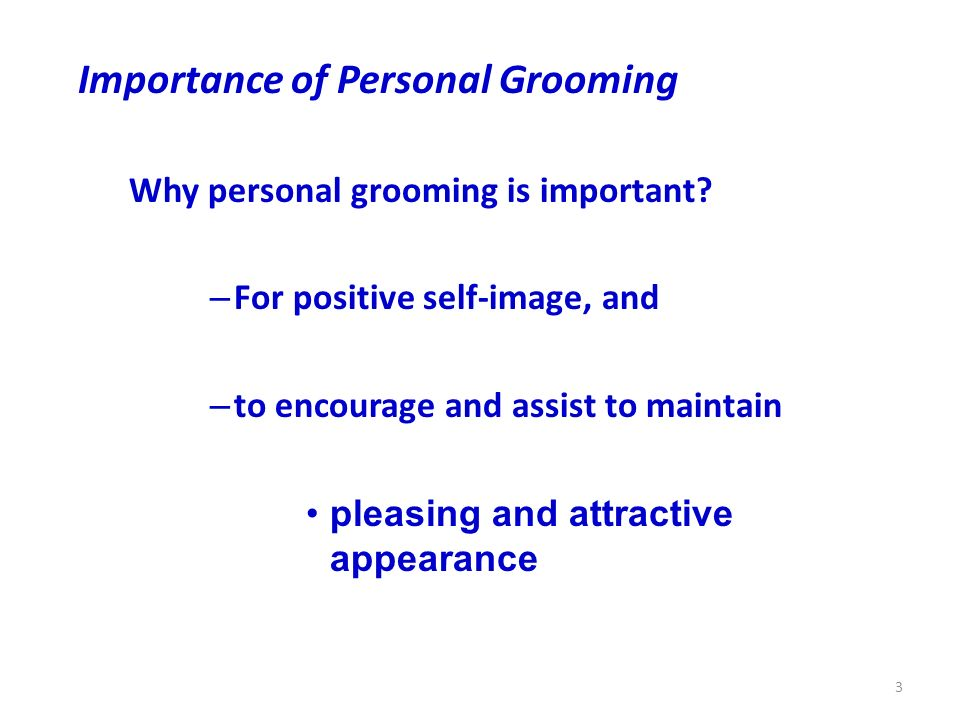 personal grooming as a chef Page 1 of 24 1 introduction 1 this training workbook has been designed to be used in conjunction with the spur basic & personal hygiene training video.