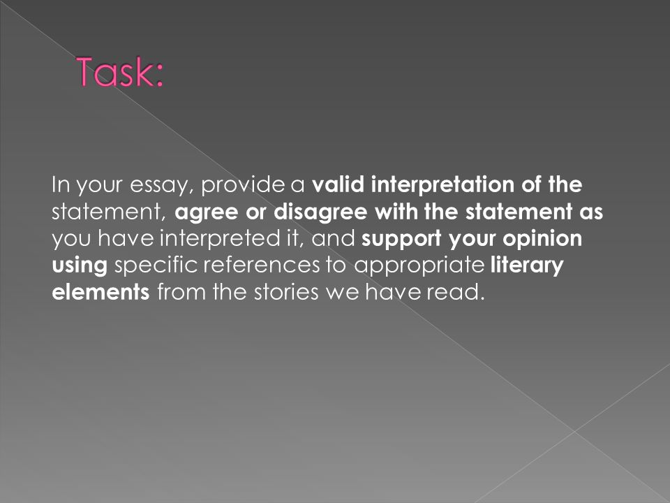 interpretative essay This essay aims to analyze and understand 'the mind's eye' by oliver sacks moreover, the paper will also present a clear understanding through the different stories of blind people from the book regarding how blind people not only utilize their other senses in an enhanced way but also how they have managed to live a better life and.