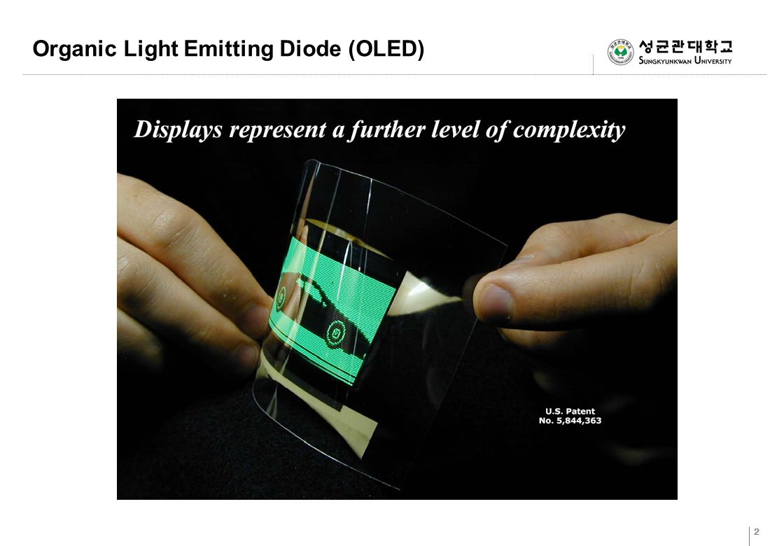 Organic Light Emitting Diode (OLED) - ppt video online ...