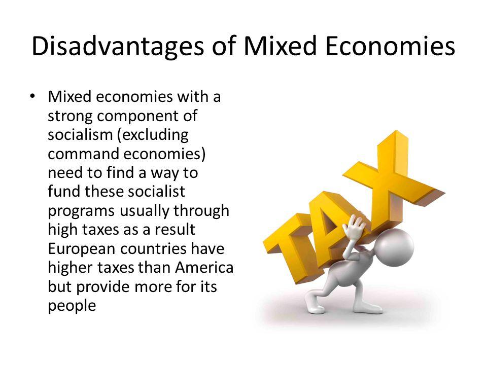 advantages and disadvantages of economics